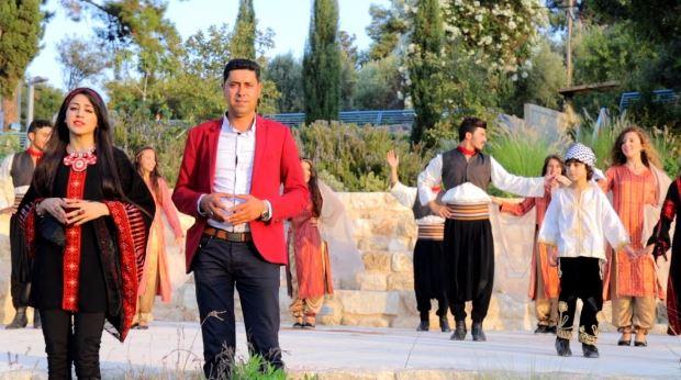 فيديو كليب الفنان نضال مرعي و الفنانة نورهان بعنوان شعب واحد مش شعبين موقع تسجيلات السويطي